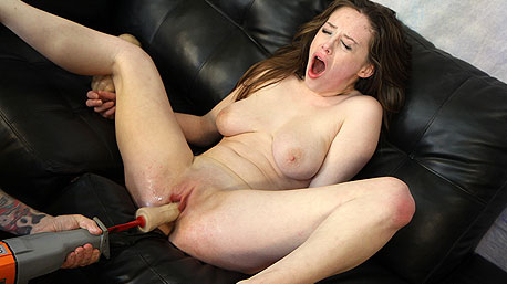 Natalie Moore Lays On Her Back And Is Screwed Deep